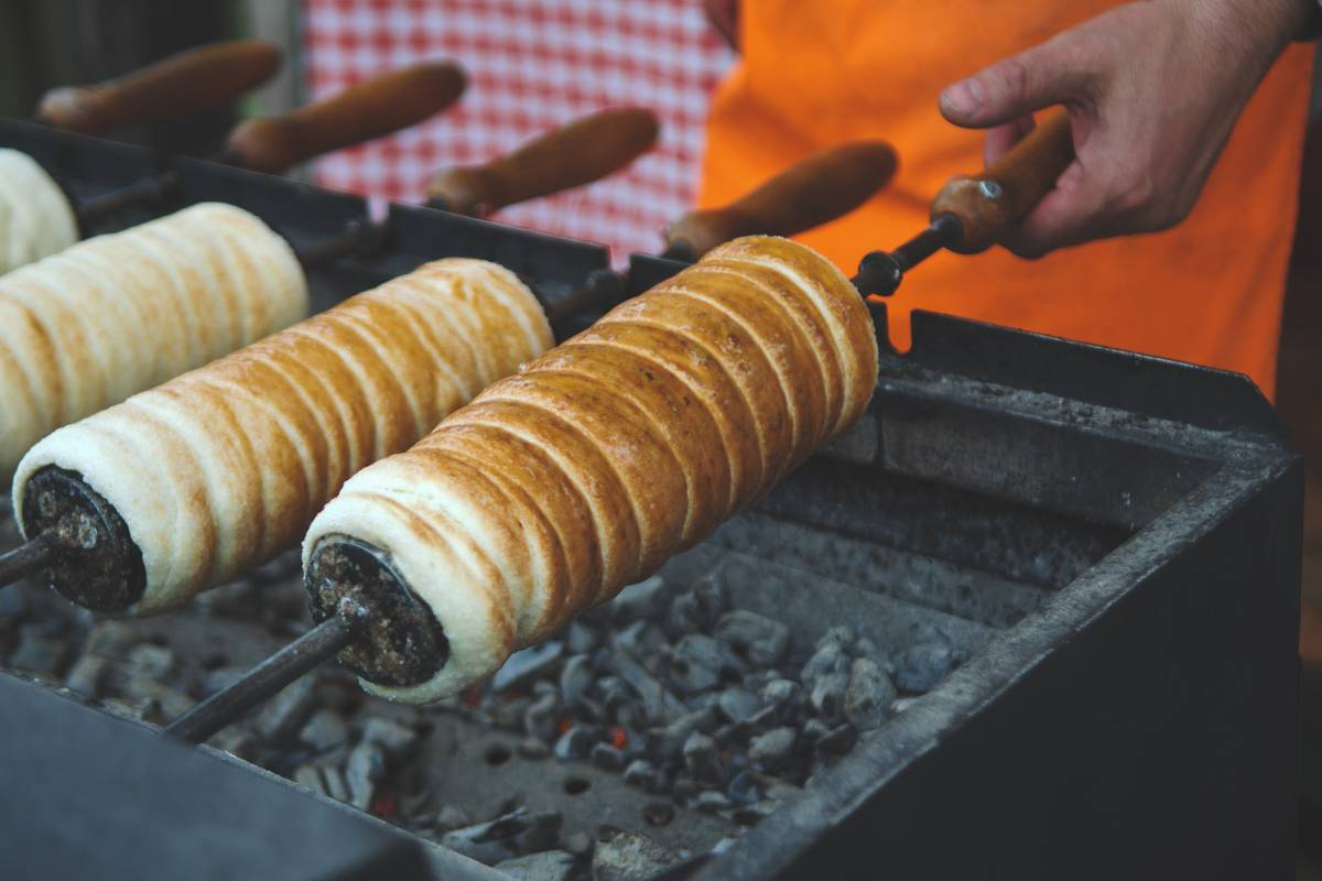 Chimney Cake In The Czech Republic