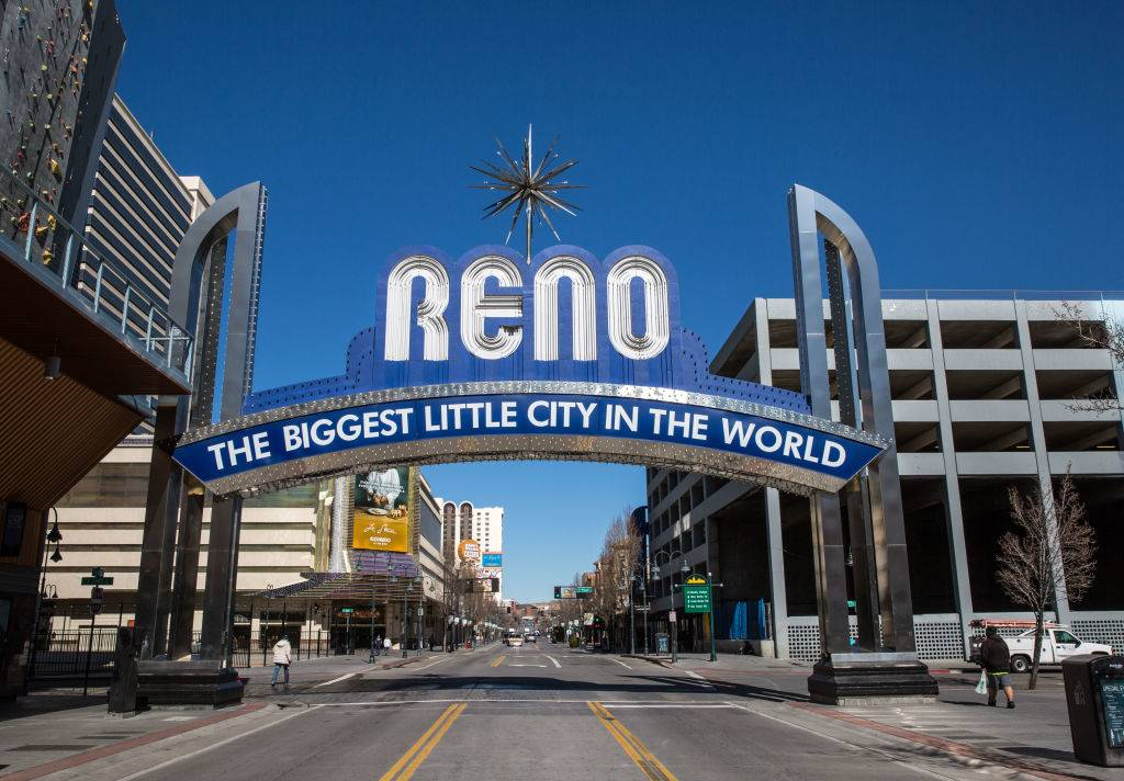 Picture of Reno sign
