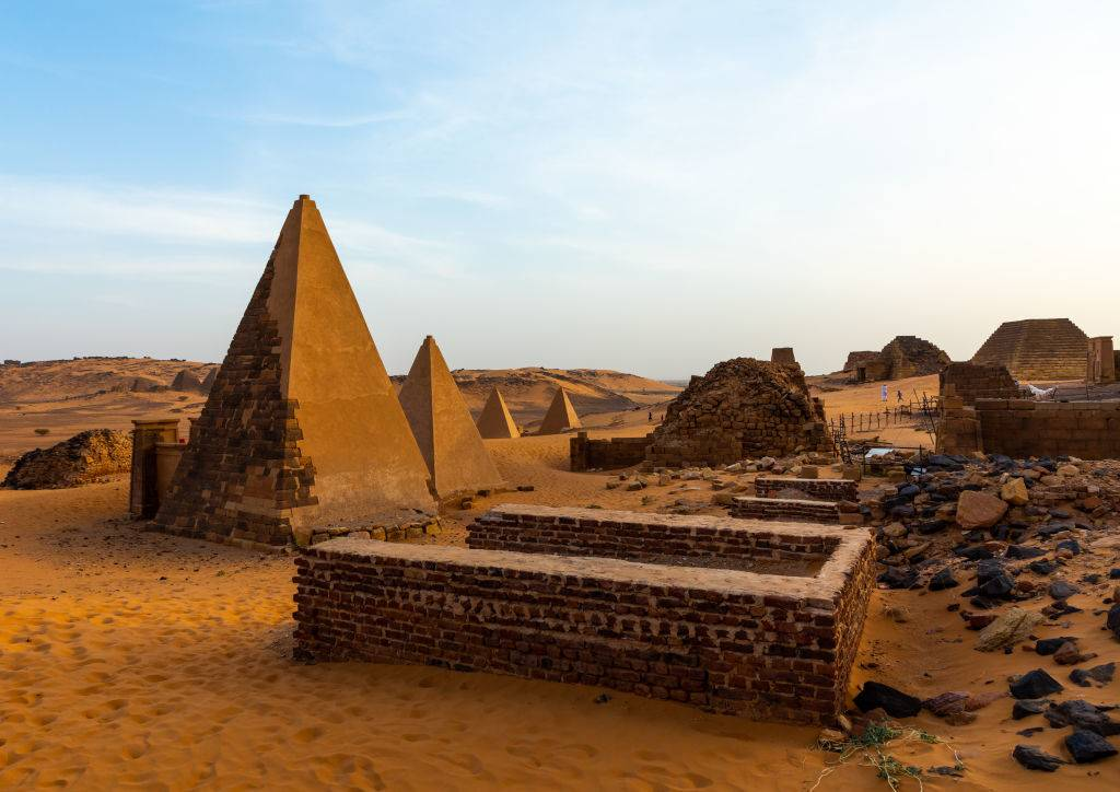 Picture of Sudan Pyramids