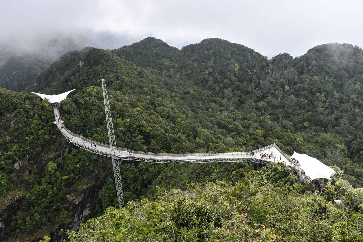 The Langkawi Sky Bridge Is 2,170 Feet Above Sea Level