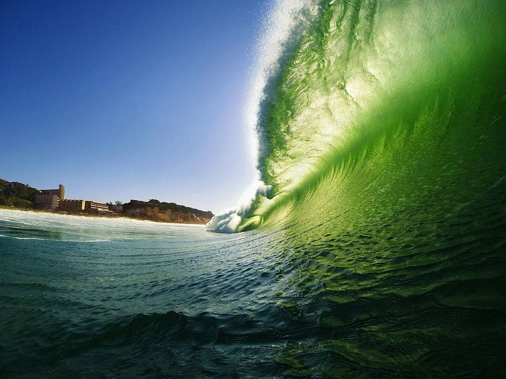 Picture of a wave