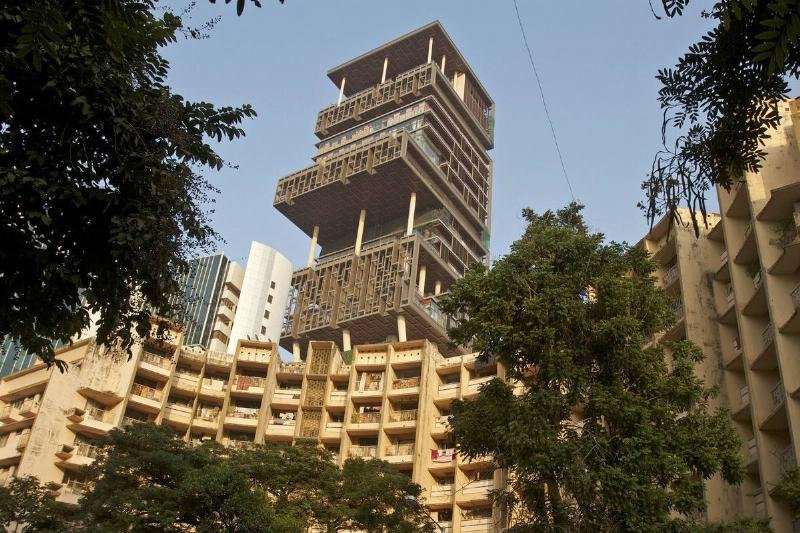 The Antilia Tower is the largest house in the world.
