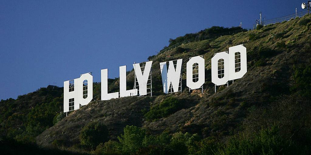 Picture of the Hollywood sign