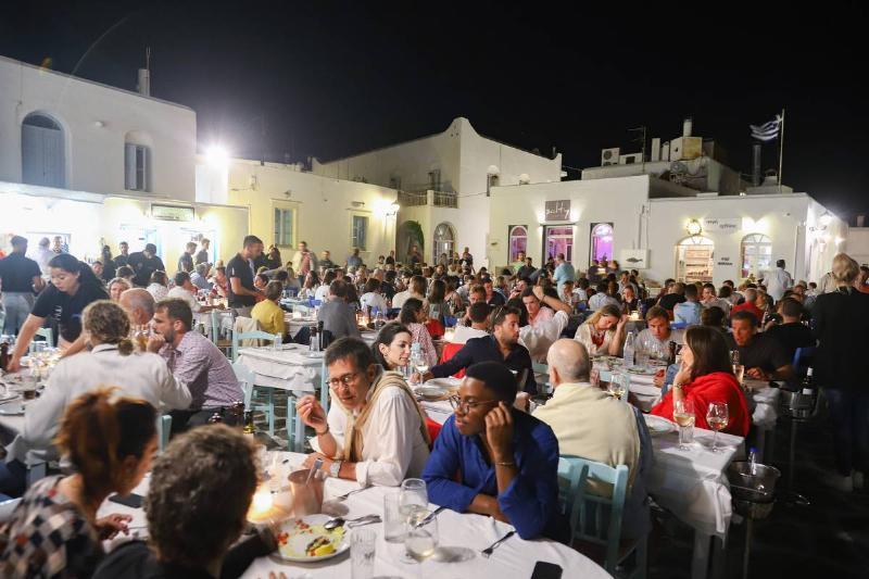 Nightlife In Naousa, Paros Island