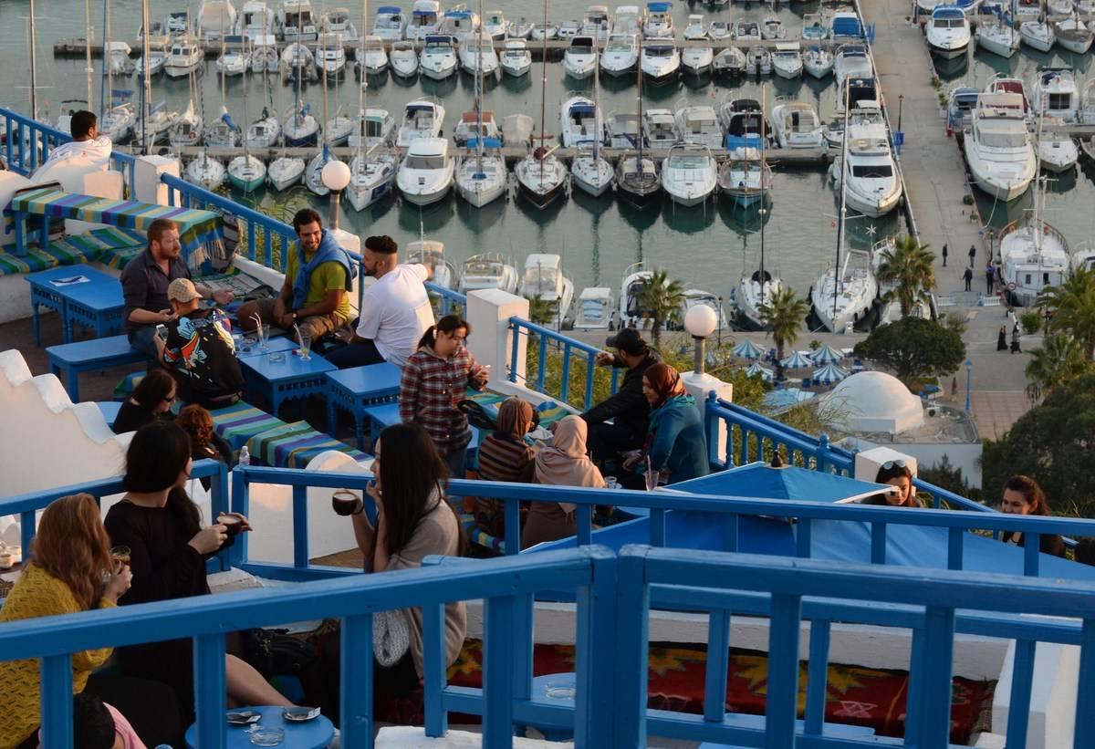TUNISIA-SIDI BOU SAID-POSTCARD