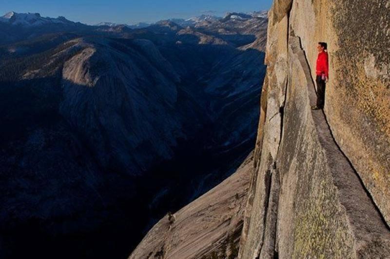 Thank-God-Ledge-northwest-face-of-Half-Dome-Yosemite-24997
